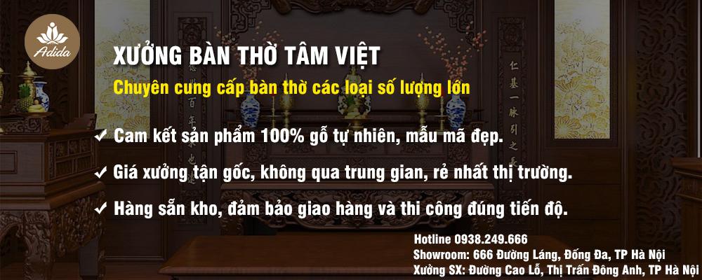 Giới thiệu Bàn Thờ Tâm Việt