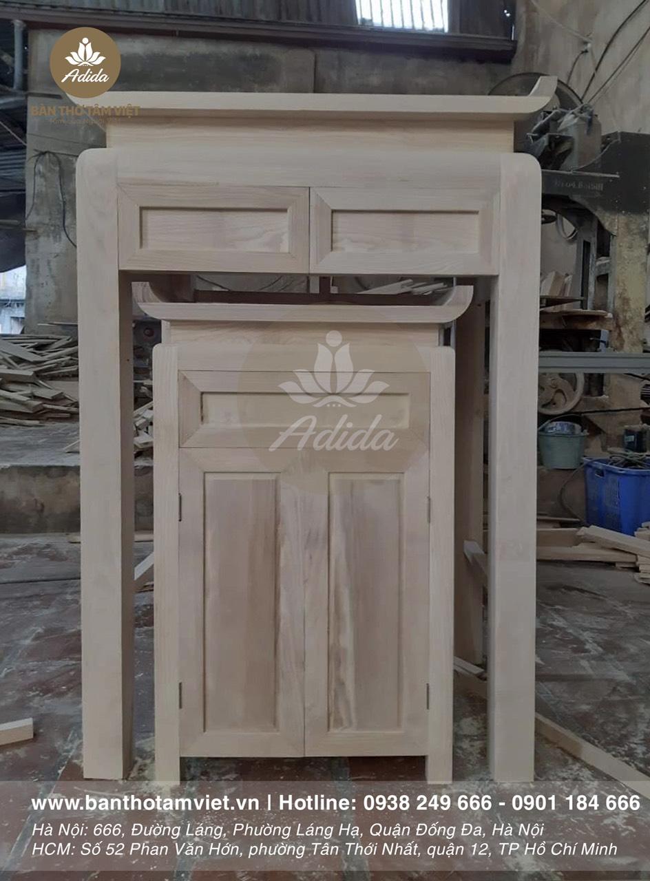 xưởng sản xuất bàn thờ Tâm Việt