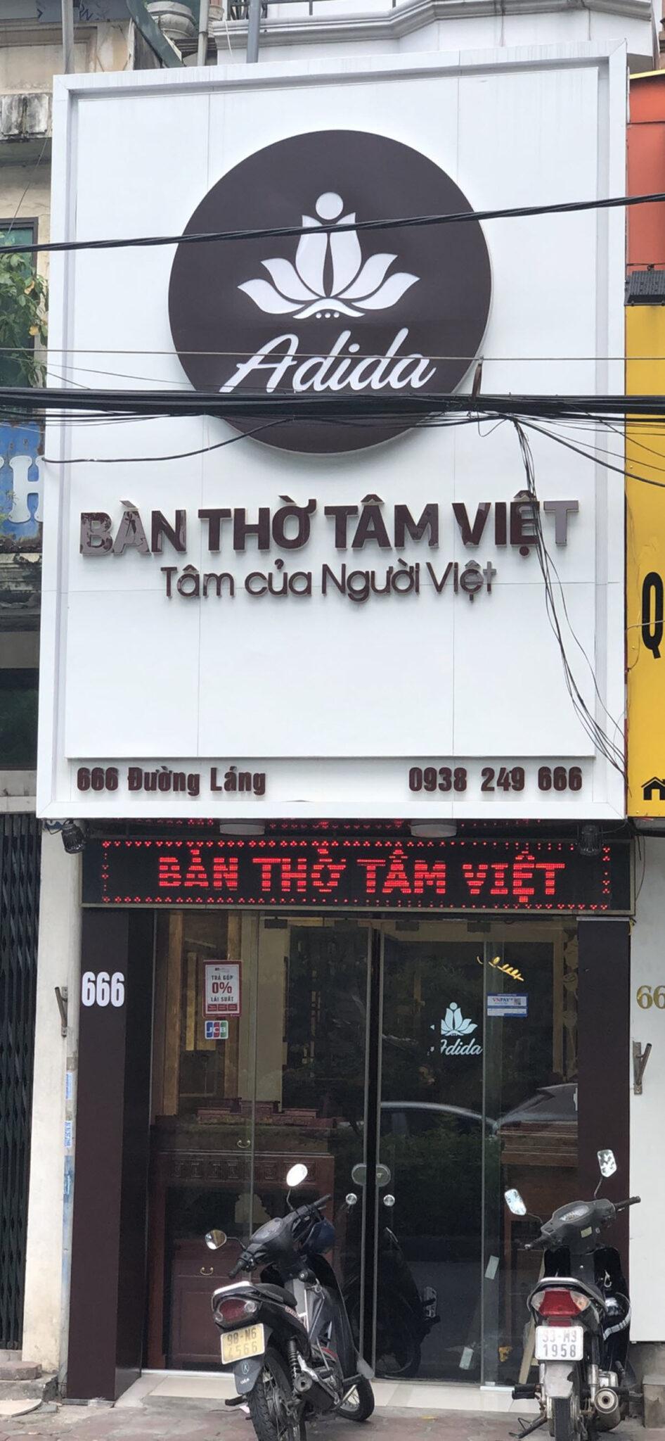 Bàn Thờ Tâm Việt